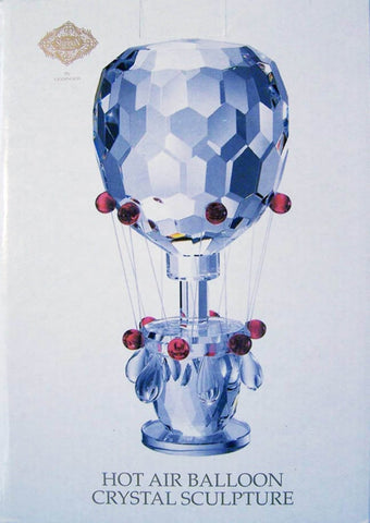 Godinger Collectable Crystal Hot Air Balloon