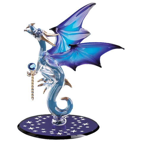 Glass Baron ~ Dragon with Stars ~ D3 993-B