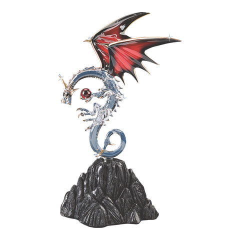 Dragon Figurine with Ruby ~ D6 994