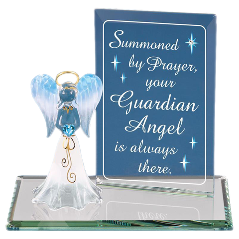 Blue Guardian Angel ~ Great Religious Gift ~ EM3 879-GA