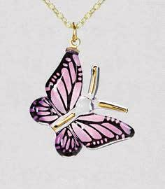 Butterfly Necklace- JX 312-LP