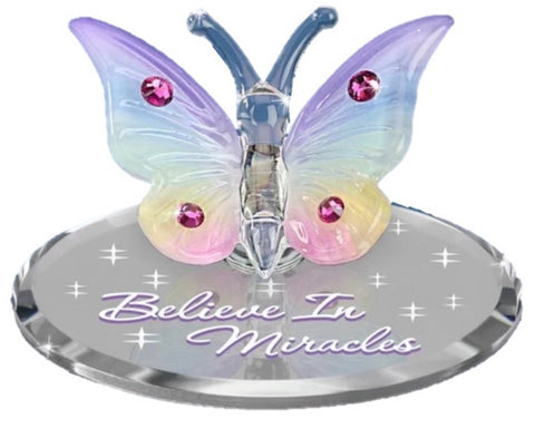 "Butterfly ""Believe in Miracles"" L0 319-BM"