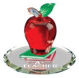 A+ Teacher Apple Figurine ~ Teacher Gift ~ S2 478-A