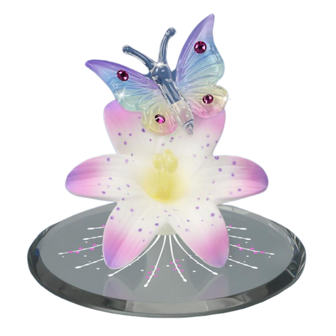 Butterfly, Lavender Lily - T3 322-MC