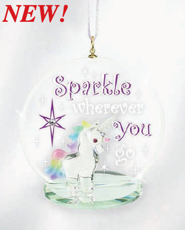 Unicorn Sparkle Christmas Tree - W3 550-SK