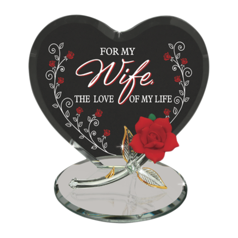 For My Wife ~ The Love of My Life ~ Red Rose ~ EM5 807-W