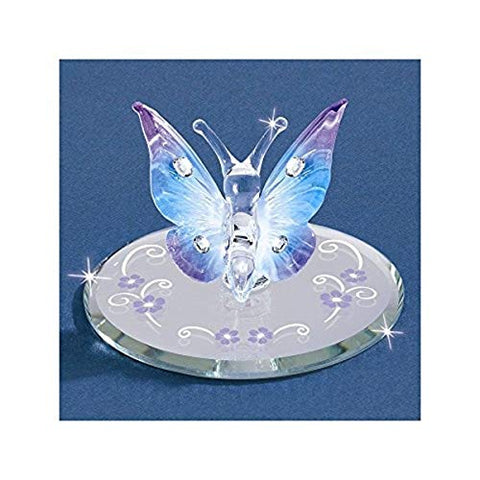 "Glass Baron Beautiful ""Butterfly"" Accented with Swarovski Crystal"