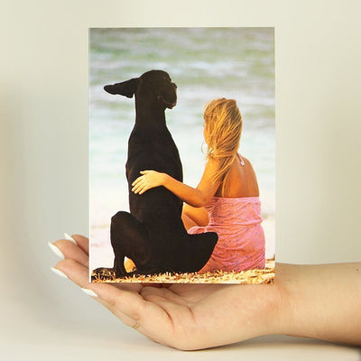 Bestfriends on the Beach-Greeting Card-MemoryTag Greeting Cards