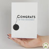 Congrats on Your Engagement Funny Greeting Card MemoryTag Greeting Cards-Greeting Card-MemoryTag Greeting Cards