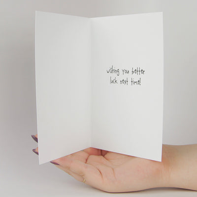 Congratulations on Failing at Taking Birth Control Funny Greeting Card MemoryTag Greeting Cards-Greeting Card-MemoryTag Greeting Cards
