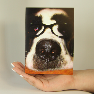 Doggie Glasses-Greeting Card-MemoryTag Greeting Cards