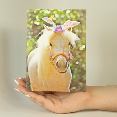 Fancy Horse-Greeting Card-MemoryTag Greeting Cards