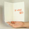 HEEEY! Valentine's Day Funny Greeting Card MemoryTag Greeting Cards-Greeting Card-MemoryTag Greeting Cards