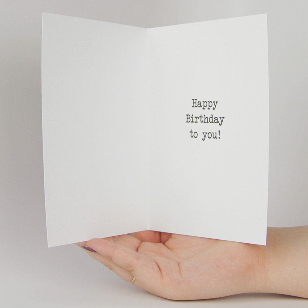 May You Live Long Enough To Poop Yourself Funny Greeting Card MemoryTag Cards
