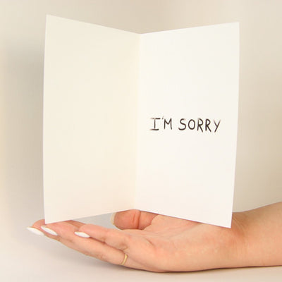 My Bad... Funny Greeting Card MemoryTag Greeting Cards-Greeting Card-MemoryTag Greeting Cards