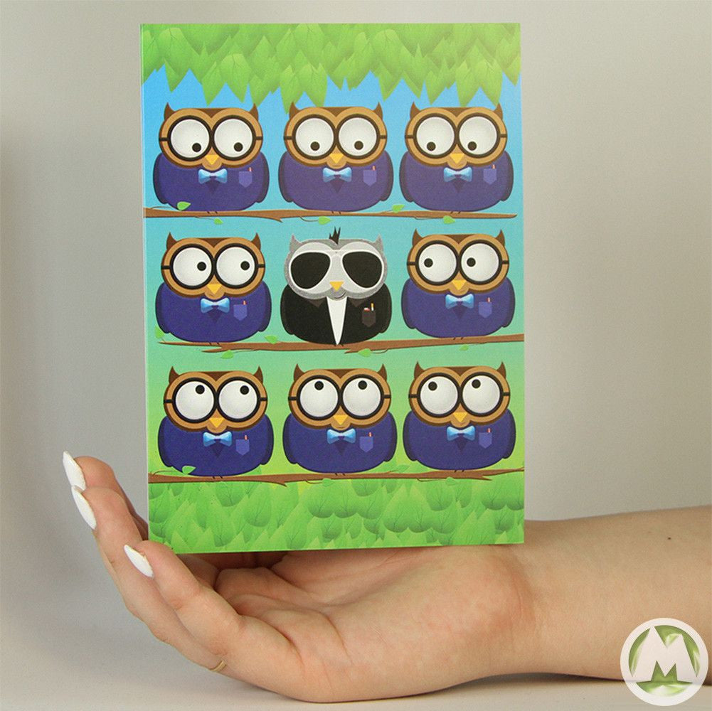 Owl tuxedo funny greeting card memorytag greeting cards owl tuxedo funny greeting card memorytag greeting cards greeting card memorytag greeting cards m4hsunfo