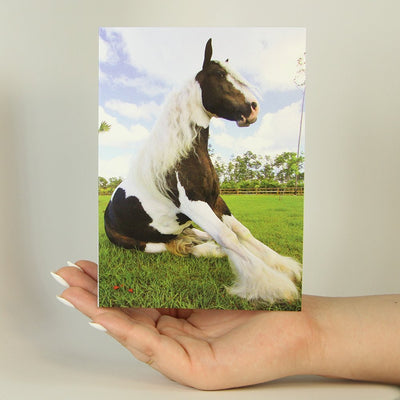 Pretty Horse-Greeting Card-MemoryTag Greeting Cards