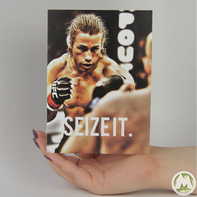 Seize It, Urijah Faber Funny Greeting Card MemoryTag Greeting Cards-Greeting Card-MemoryTag Greeting Cards