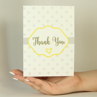 Thank You-Greeting Card-MemoryTag Greeting Cards