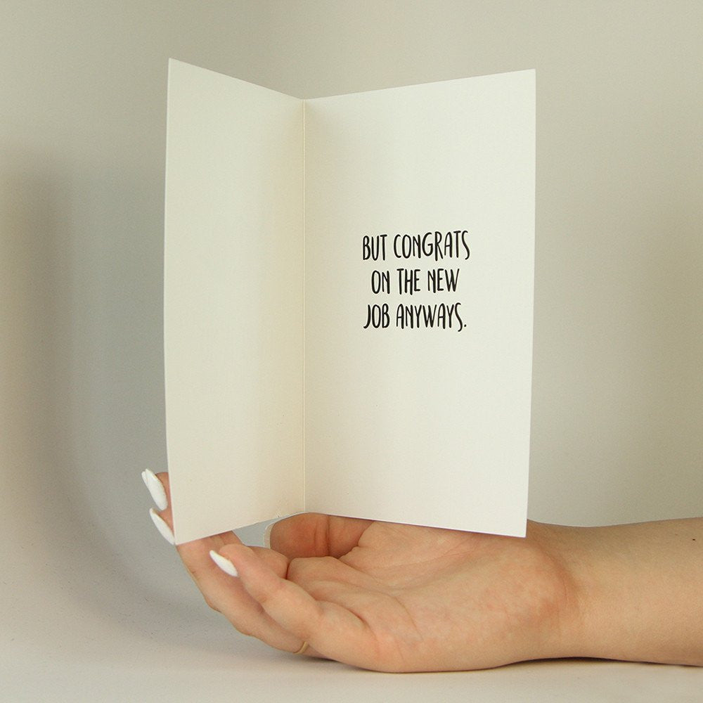There Is No Better Job Than Funny Greeting Card Memorytag