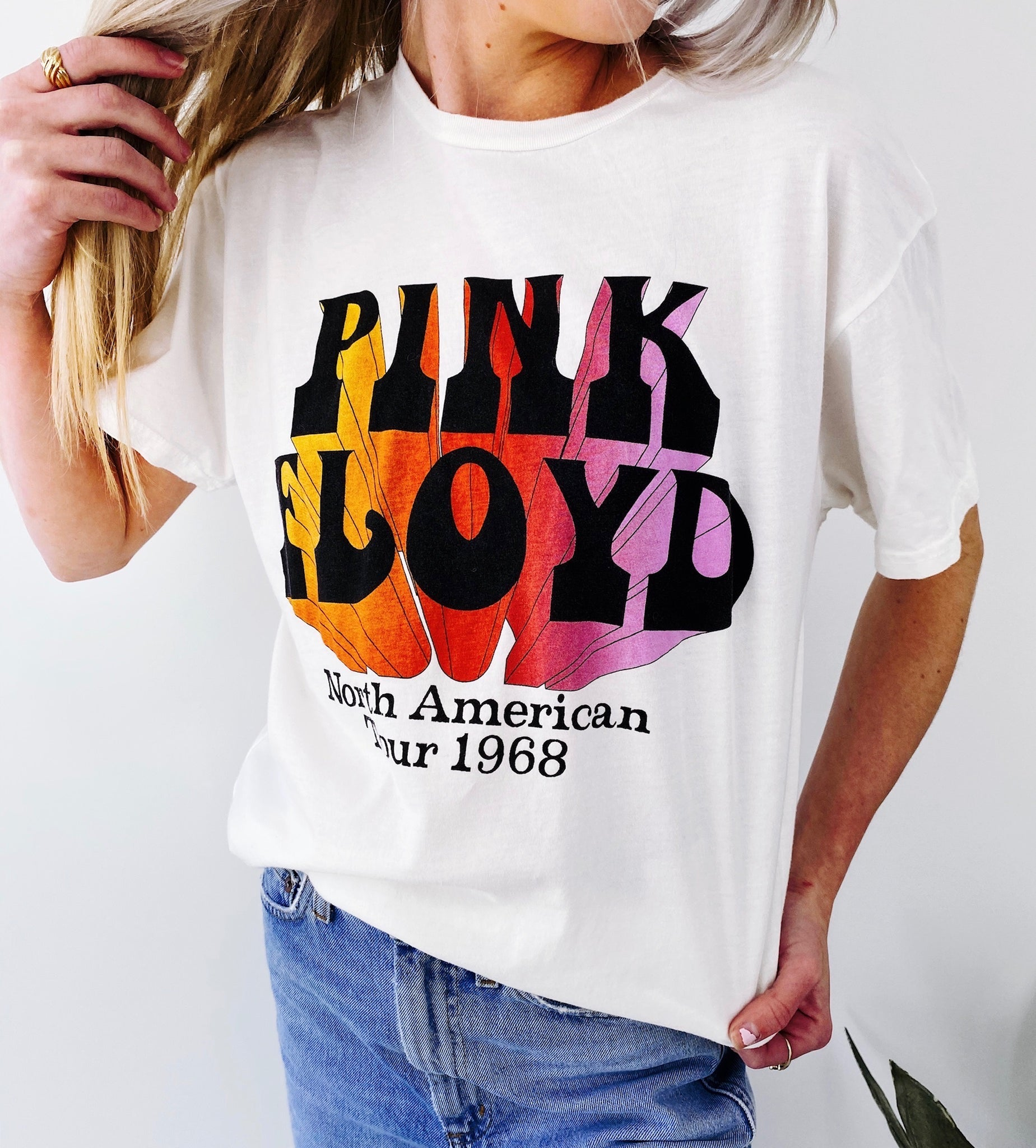 Pink Floyd North America Tour Tee 1968
