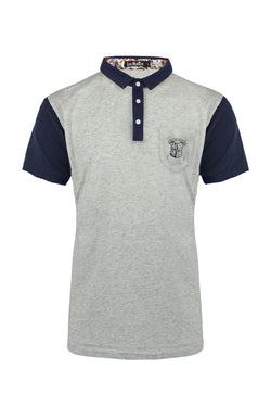 adae185be Short Sleeve Fitted Collar Polo Shirt