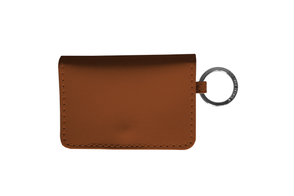 Jon Hart ID Wallet #454 All Leather Shown in Mahogany