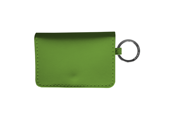 Jon Hart ID Wallet #454 All Leather Shown in Shamrock