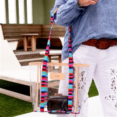 Olé Tourney Tote with Clear Pouch (In Store - Ready to Stamp)