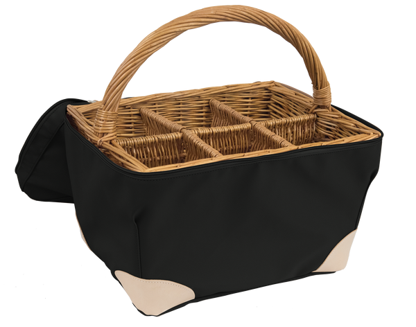 Jon Hart Bottle Basket #615 Shown in Black