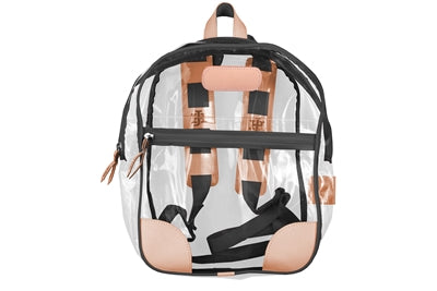 Jon Hart Design Clear Backpack #910 in Black