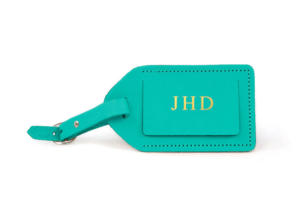 Jon Hart Luggage Tag #911 Shown in Caribbean