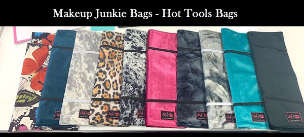 Makeup Junkie Bags - Hot Tools Bags (Pre-Order - these will ship approx. 3.21)