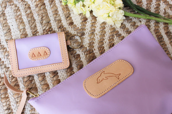 Jon Hart ID Wallet #454 Shown in Lilac