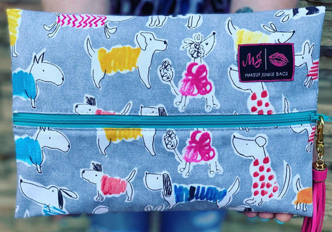 Makeup Junkie Bags - Must Love Dogs