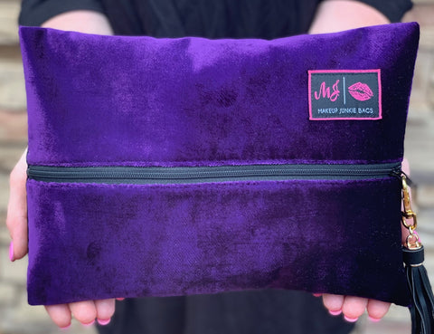 Makeup Junkie Bags - Purple Rain