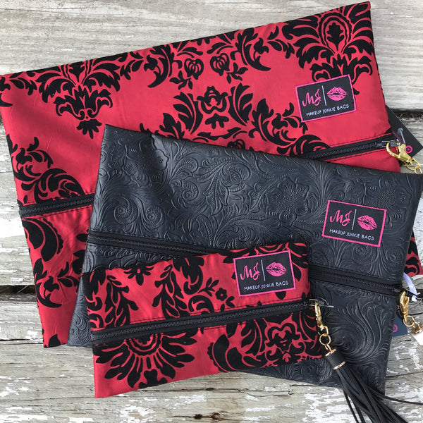 Makeup Junkie Bags - Regal