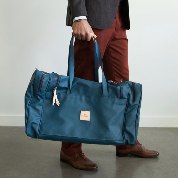 Large Square Duffel #829