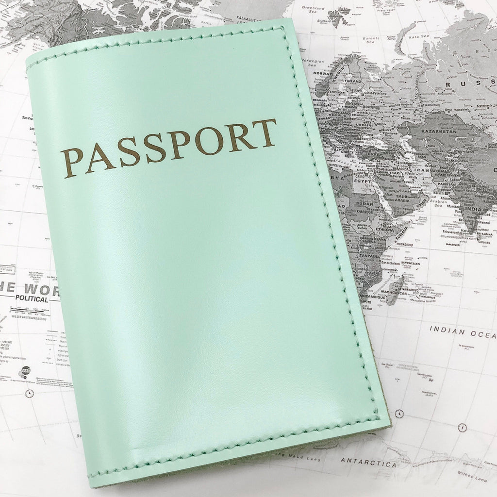 Passport Cover #435