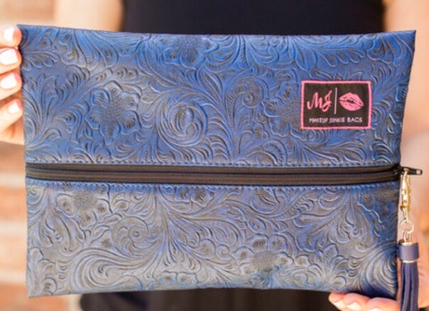 Makeup Junkie Bags - Indigo Night