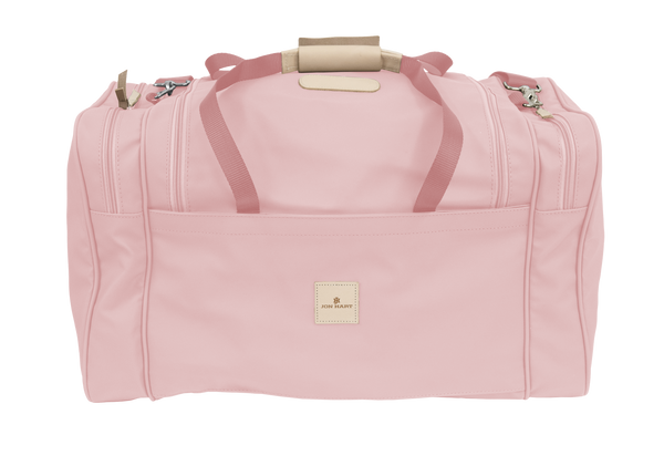 Jon Hart Large Square Duffel #829 Shown in Rose (back)