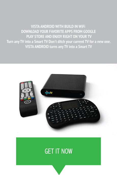 VistaTV Android Set Top Box