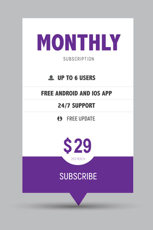 VistaTV Movies Monthly Subscription*