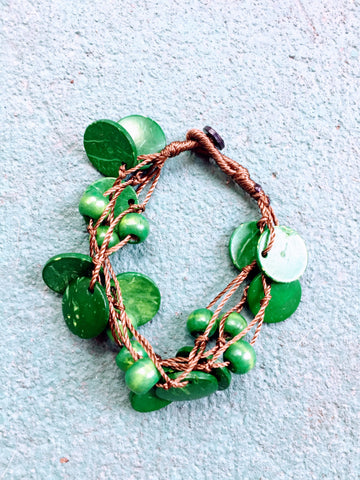Beautifully Brazen Bracelet in Cadmium Green
