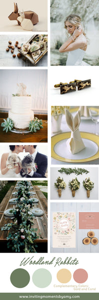 Wedding Inspiration | Woodland Wedding | Rabbits