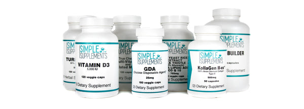 Simple Supplements Product Stack