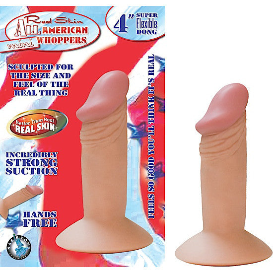 "4"" mini dong flesh"