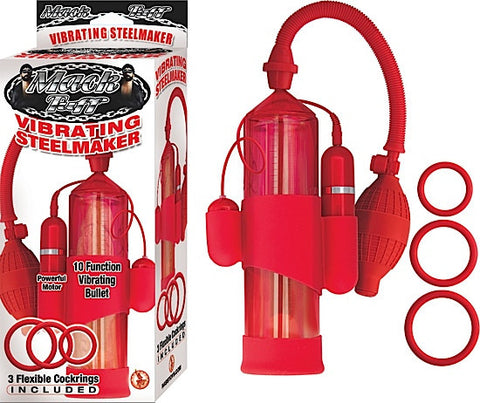 MACK TUFF VIBRATING STEELMAKER-RED - Red Rose Toys