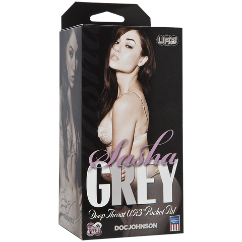 Sasha Grey - ULTRASKYN™ Deep Throat Pocket Pal - Red Rose Toys