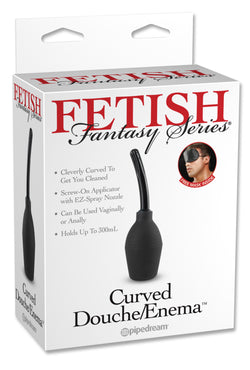 Fetish Fantasy Series Curved Douche/Enema - Red Rose Toys
